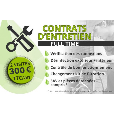 Contrat de maintenance Full Time